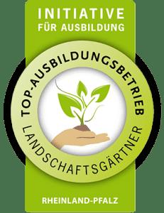 Initiative für Ausbildung Siegel - Landschaftsgärtner Rheinland-Pfalz